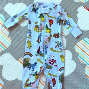 Hanna Andersson wizard of oz jammies!! Size 0-3